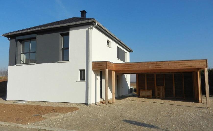 Les r alisations de maisons brand constructeur maisons 4 for Maison brand