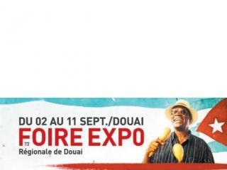 Venez nous retrouver à la Foire exposition régionale de Douai (59) du 02 au 11 septembre 2017
