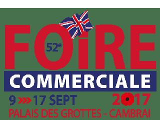 Venez nous retrouver à la foire commerciale de Cambrai (59) du 09 au 17 septembre 2017