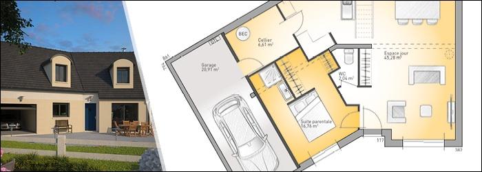 Inova une maison en forme de V