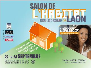 Venez nous retrouver au Salon Habitat et Immo de Laon (02) du 22 au 24 septembre 2017