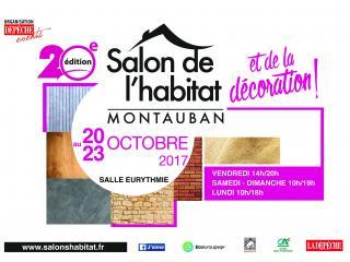 SALON DE L'HABITAT DE MONTAUBAN du 20 au 23 Octobre 2017