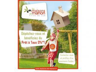 Profitez du PTZ avec Les Maisons de Manon avant fin 2017.
