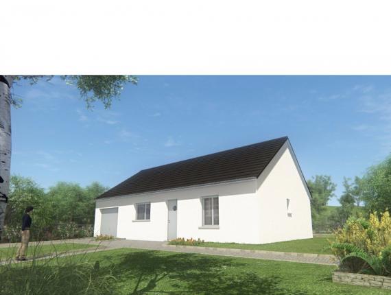 Modèle de maison MAISON DE PLAIN PIED - 66 A 76 M2 - CORREZE ET NOR : Photo 1