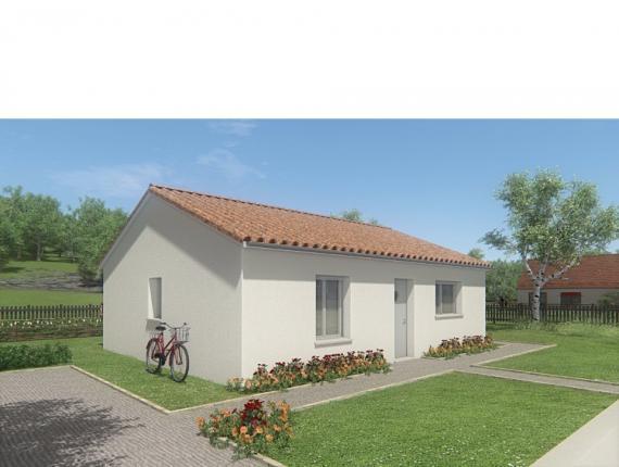 Modèle de maison MAISON DE PLAIN PIED - 66 A 76 M2 - HAUTE-VIENNE - : Photo 1