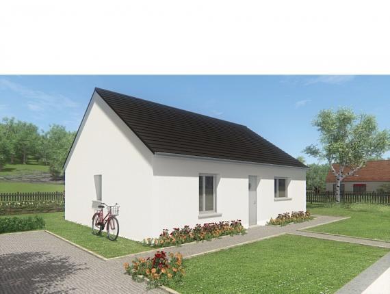 Modèle de maison MAISON DE PLAIN PIED - 66 A 76 M2 - CORRÈZE - LOT : Photo 1