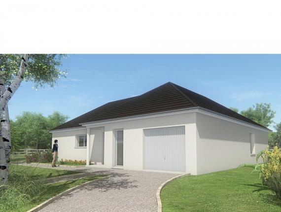 Modèle de maison MAISON PLAIN PIED - 108 M2 - CORRÈZE, NORD DU LOT : Photo 1