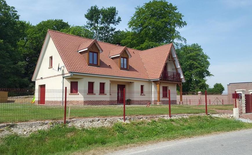 Nos réalisations de maisons à toits rouges