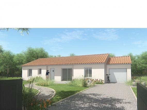 Modèle de maison MAISON DE PLAIN PIED - 110 M2 - HAUTE-VIENNE - FAM : Photo 1