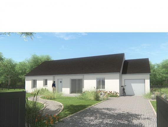 Modèle de maison MAISON DE PLAIN PIED - 110 M2 - CORRÈZE - NORD DU : Photo 1