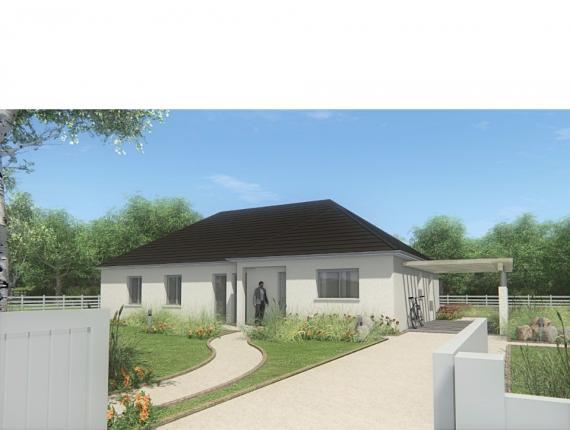 Modèle de maison MAISON DE PLAIN PIED - 120 M2 - CORRÈZE ET NORD DU : Photo 1
