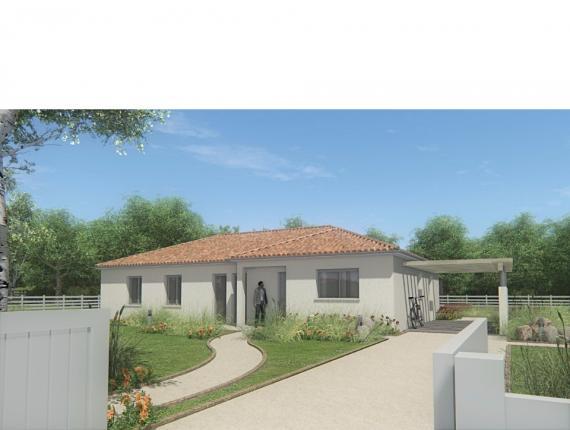 Modèle de maison MAISON DE PLAIN PIED - 120 M2 - HAUTE-VIENNE - FAM : Photo 1
