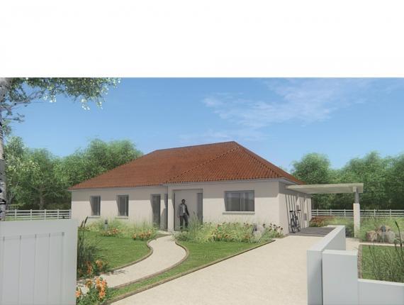 Modèle de maison MAISON DE PLAIN PIED - 120 M2 - CREUSE - FAMILY 7 : Photo 1