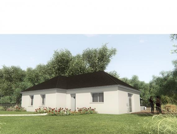 Modèle de maison MAISON SUR SOUS-SOL - 93 M2 - CORRÈZE ET NORD DU L : Photo 1