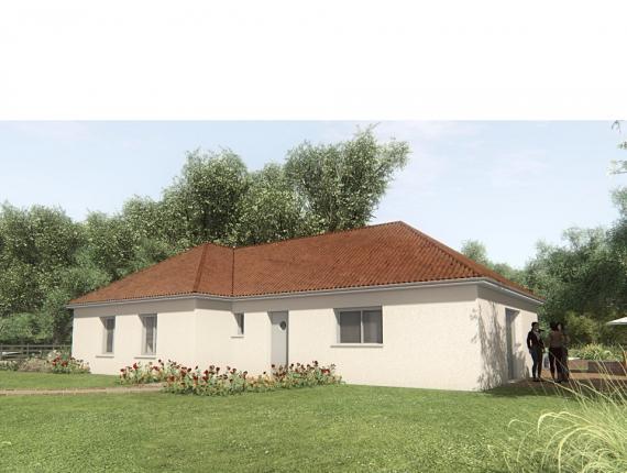 Modèle de maison MAISON SUR SOUS-SOL - 103 M2 - CREUSE - GARTEMPE 6 : Photo 1