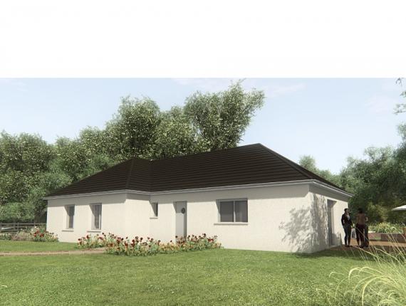 Modèle de maison MAISON SUR SOUS-SOL - 103 M2 - CORRÈZE - NORD DU L : Photo 1