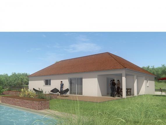 Modèle de maison MAISON DE PLAIN PIED - 102 M2 - CREUSE - LANDA 5SP : Photo 1