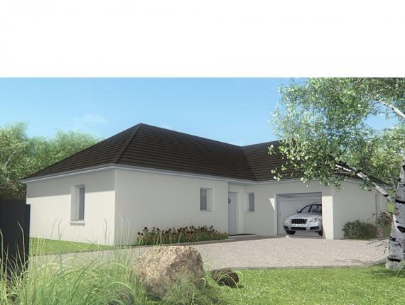 Modèle de maison MAISON DE PLAIN PIED - 102 M2 - CORRÈZE, NORD DU L : Photo 1