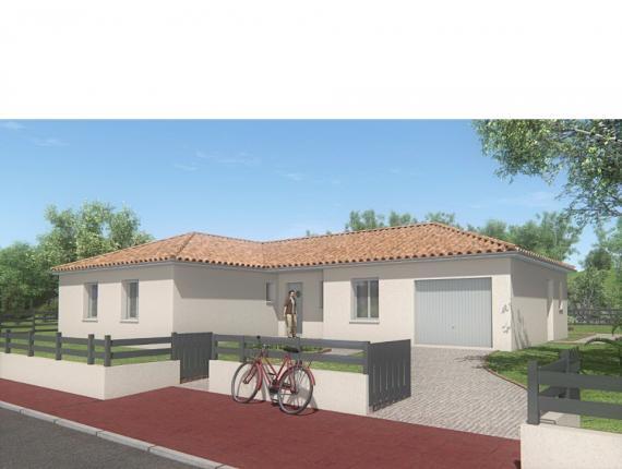 Modèle de maison MAISON DE PLAIN PIED - 111 M2 - HAUTE-VIENNE - LAN : Photo 1