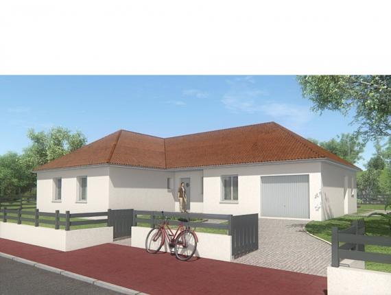 Modèle de maison MAISON DE PLAIN PIED - 111 M2 - CREUSE - LANDA 6SP : Photo 1