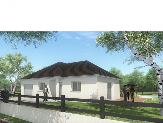 Modèle de maison MAISON DE PLAIN PIED - 90 M 2 - CORRÈZE - NORD DU : Photo 1