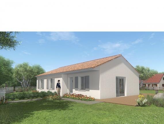 Modèle de maison MAISON SUR SOUS-SOL - 87 M 2 - HAUTE-VIENNE - MERC : Photo 1
