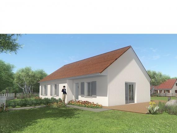 Modèle de maison MAISON DE SOUS-SOL - 86 M 2 - CREUSE - MERCURIA 5 : Photo 1