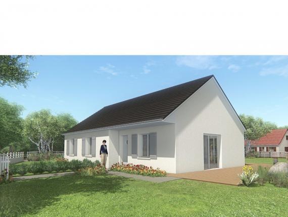 Modèle de maison MAISON SUR SOUS-SOL - 86 M 2 - CORRÈZE, NORD DU LO : Photo 1