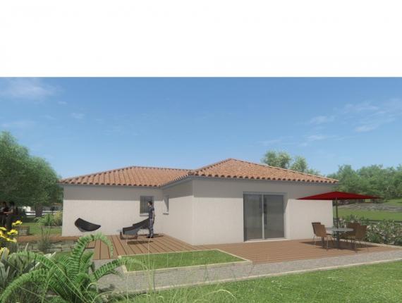 Modèle de maison MAISON DE PLAIN PIED - 98 M 2 - HAUTE-VIENNE - ACC : Photo 1