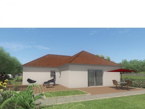 Modèle de maison MAISON DE PLAIN PIED - 98 M 2 - CREUSE - ACCORD 5 : Photo 1