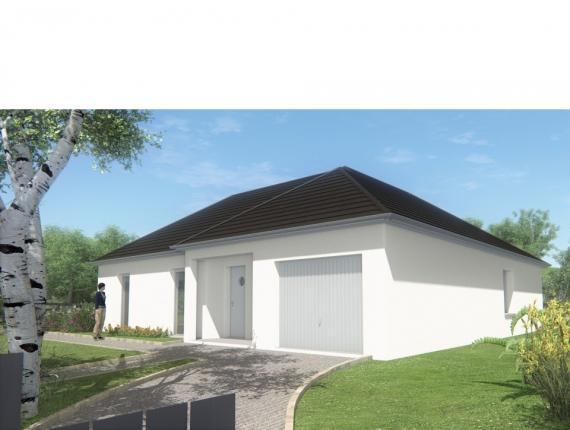 Modèle de maison MAISON DE PLAIN PIED - 98 M 2 - CORRÈZE - NORD DU : Photo 1