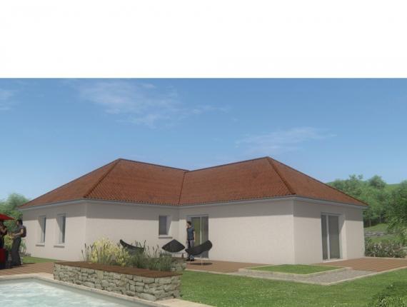Modèle de maison MAISON DE PLAIN PIED - 108 M 2 - CREUSE - ACCORD 6 : Photo 1