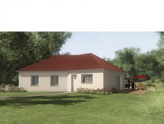 Modèle de maison MAISON SUR SOUS-SOL - 91 M2 - HAUTE-VIENNE - ELLA : Photo 1