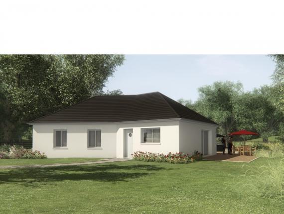 Modèle de maison MAISON SUR SOUS-SOL - 91 M2 - CORREZE -LOT-DORDOGN : Photo 1