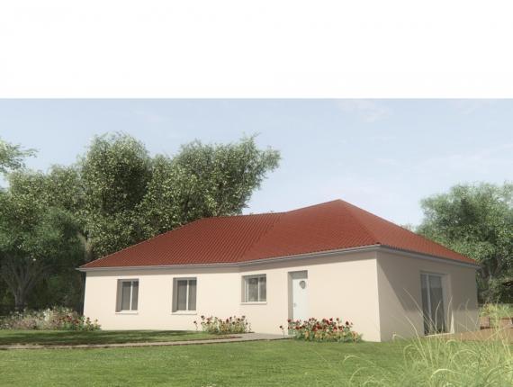 Modèle de maison MAISON SUR SOUS-SOL - 100 M2 - CREUSE - ELLA 6 : Photo 1