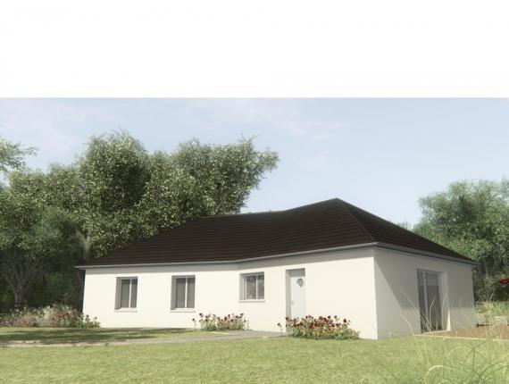 Modèle de maison MAISON SUR SOUS-SOL - 100 M2 - CORRÈZE-LOT-DORDOGN : Photo 1