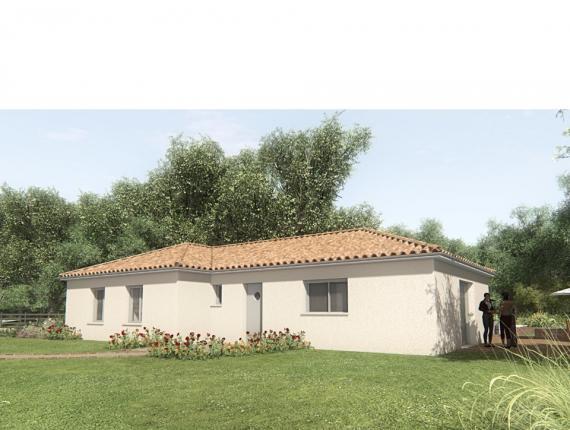 Modèle de maison MAISON SUR SOUS-SOL - 103 M 2 - HAUTE-VIENNE - GAR : Photo 1