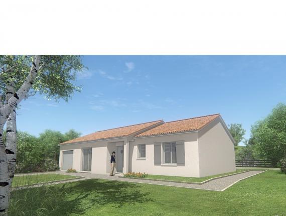 Modèle de maison MAISON PLAIN PIED- 90 M 2 - HAUTE-VIENNE - PRIMA 5 : Photo 1