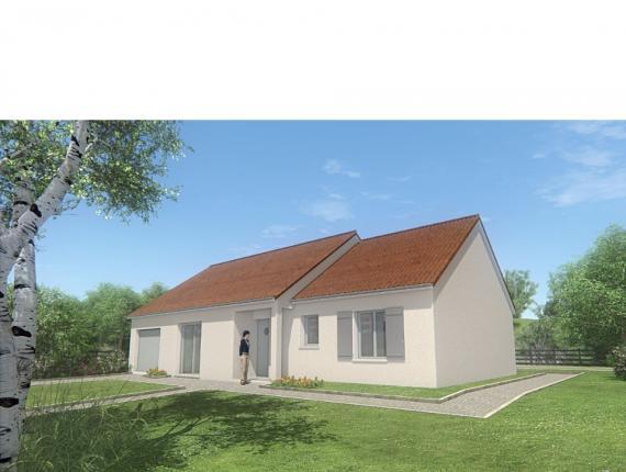 Modèle de maison MAISON PLAIN PIED- 90 M 2 - CREUSE - PRIMA 5 : Photo 1