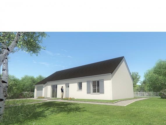 Modèle de maison MAISON PLAIN PIED - 85 M 2 - CORRÈZE - LOT -DORDOG : Photo 1