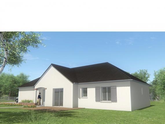 Modèle de maison MAISON DE PLAIN PIED - 96 M 2 - CORRÈZE - LOT - DO : Photo 1