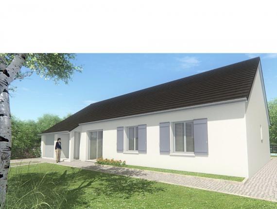 Modèle de maison MAISON DE PLAIN PIED - 103 M 2 - CORRÈZE - LOT - D : Photo 1