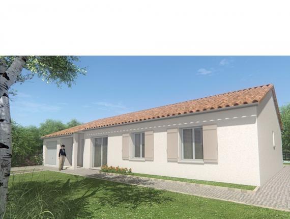 Modèle de maison MAISON DE PLAIN PIED - 103 M 2 - HAUTE-VIENNE - ST : Photo 1