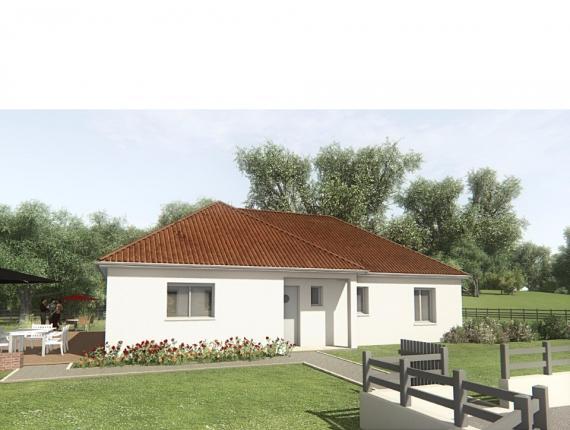 Modèle de maison MAISON SUR SOUS-SOL - 94 M 2 - CREUSE - STERRIA 5 : Photo 1