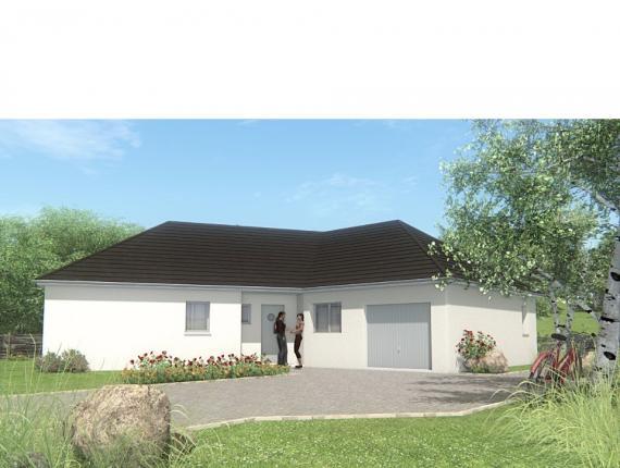 Modèle de maison MAISON DE PLAIN PIED - 100 M 2 - CORRÈZE-LOT-DORDO : Photo 1