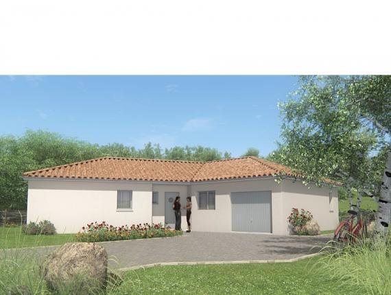 Modèle de maison MAISON DE PLAIN PIED - 100 M 2 - HAUTE-VIENNE - VE : Photo 1
