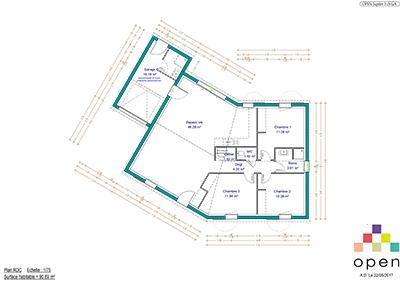 Open Limousin - Plan de maisons Jupiter