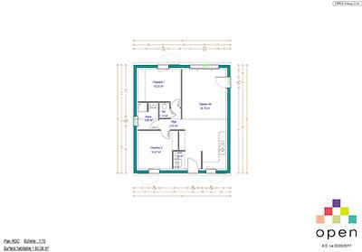 Open Limousin - Plan de maisons Vénus