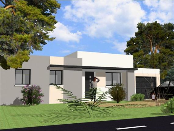 Les plans de maisons de marc junior for Modele maison toit plat