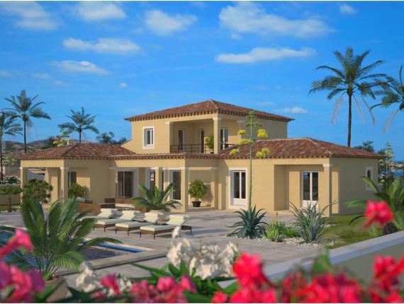 Plan de maison m diterran e 120 maisons balency - Maison de la mediterranee ...